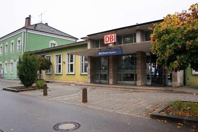 Im Zug vergessener Koffer führt zu Bundespolizeieinsatz am Bahnhof Müllheim
