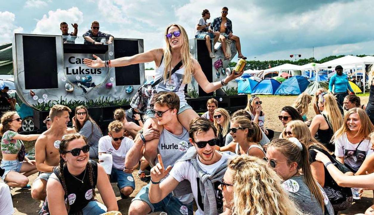 Jährlich kommen mehr als 100.000 Festi... 30 Kilometer westlich von Kopenhagen.    Foto: Torben Christensen