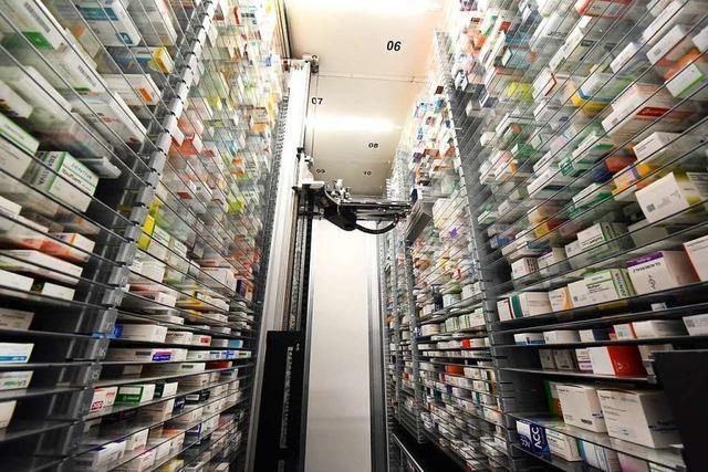 Verbraucher decken sich mit Arzneimitteln ein