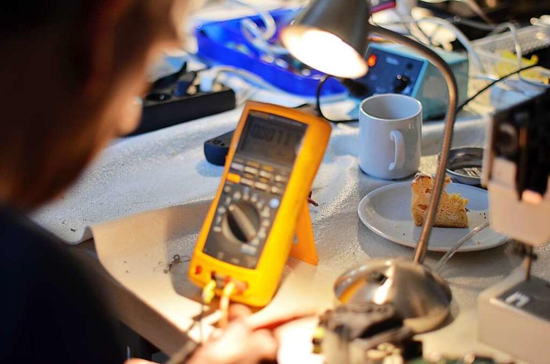 In einem Reparaturcafé    | Foto: Kathrin Blum