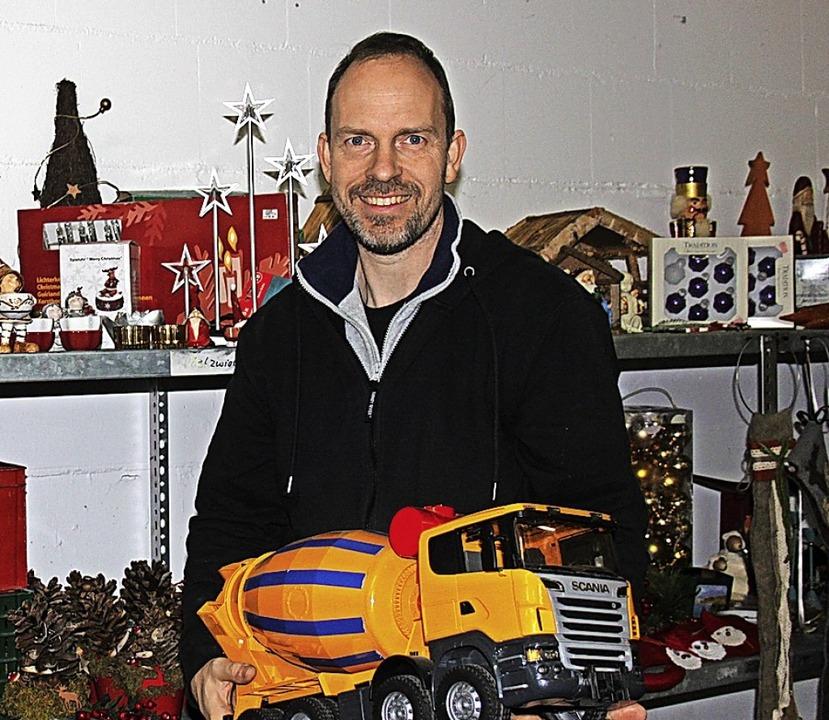 Jürgen Albiez, Leiter des AWO-Kaufhauses Wallbach     Foto: Nina Witwicki