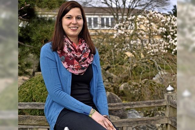 Lisa Hallermann, neue Bezirksjugendreferentin des Evangelischen Jugendwerk