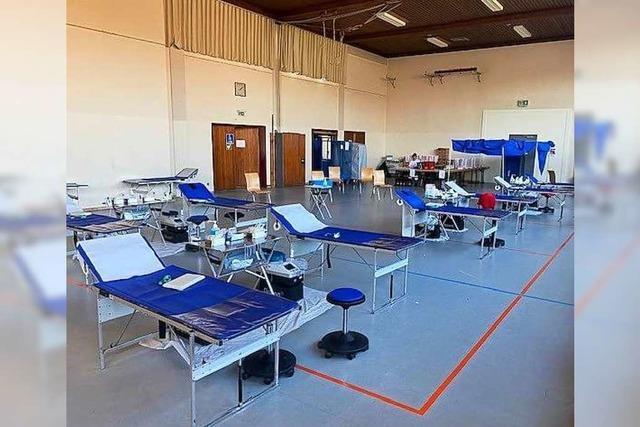 487 Blutspender kommen an zwei Tagen nach Haltingen