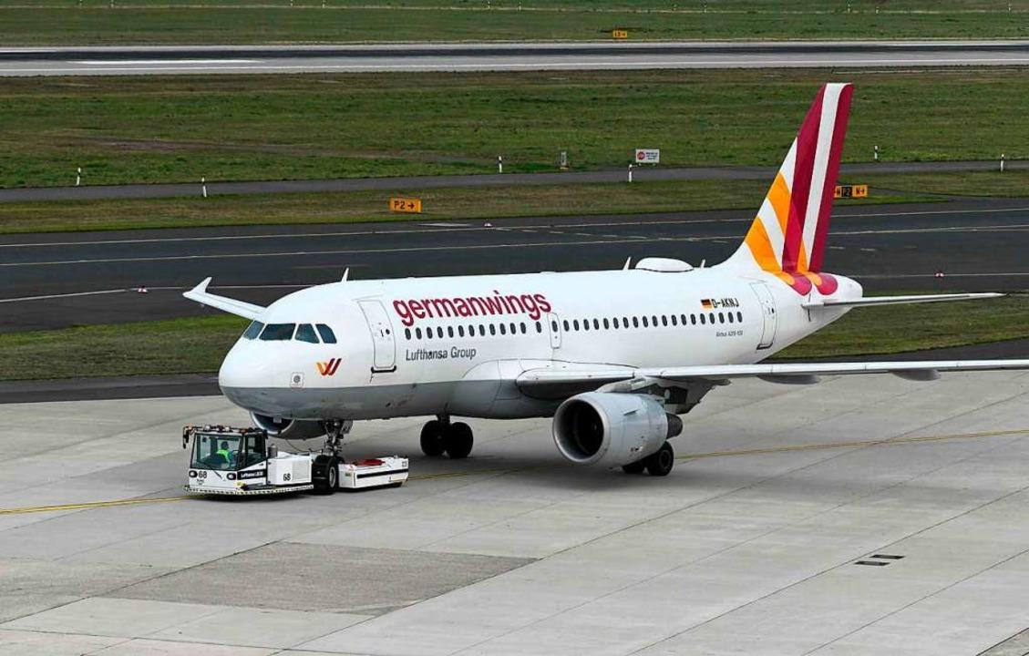 Ein Bild aus der Vergangenheit: Germanwings stellt den Betrieb ein.   | Foto: INA FASSBENDER (AFP)