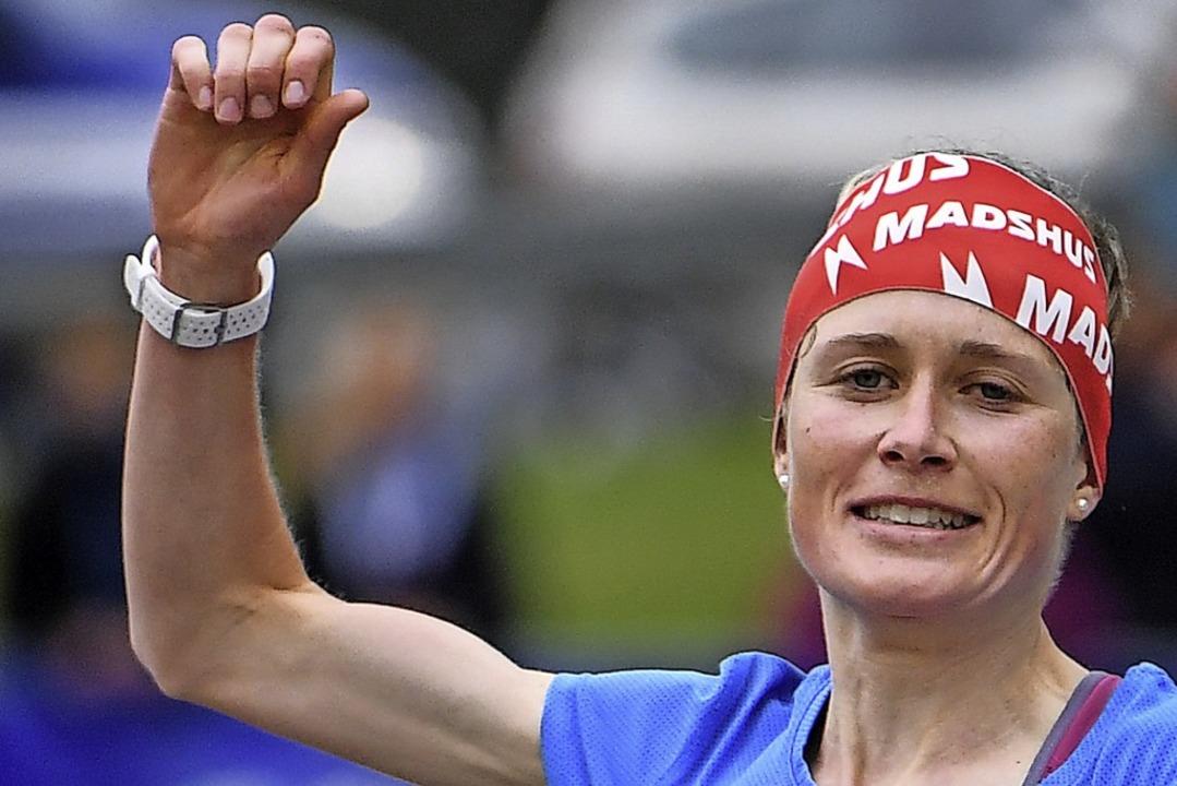 Seriensiegerin: Stefanie Doll gewann i...erte die Schwarzwälder Berglaufszene.   | Foto: Patrick Seeger