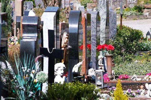 Wie sich Beerdigungen in Lahr und Friesenheim verändert haben