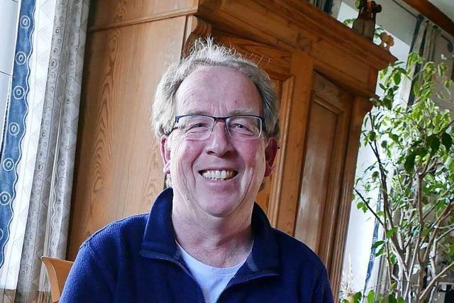 Harald Höfler aus Heitersheim freut sich über die Solidarität seiner Kollegen