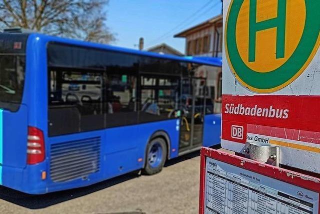 Südbadenbus fährt auf Minimum reduzierten Linienverkehr