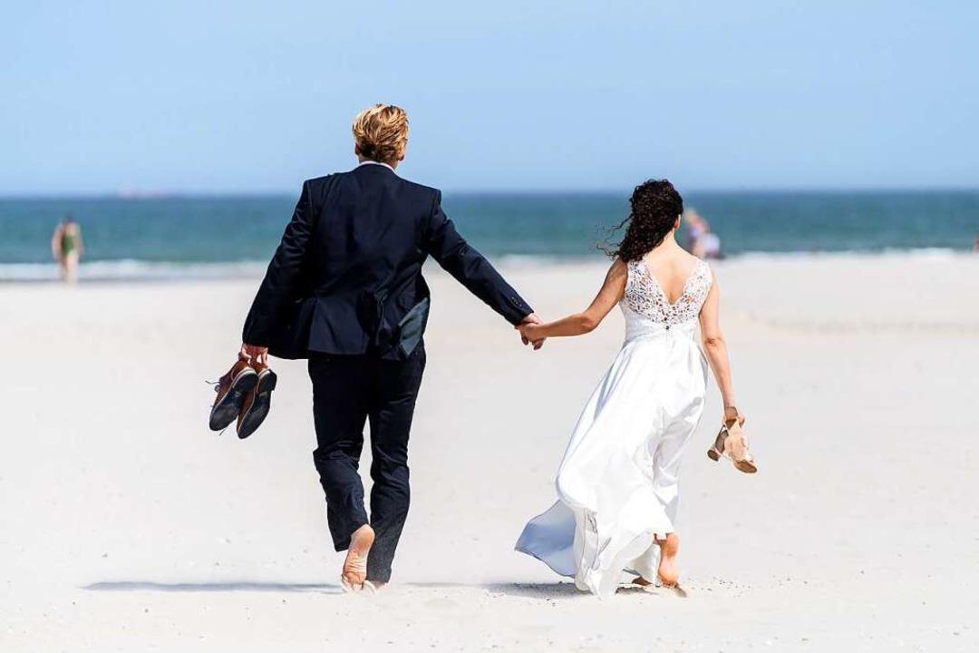 Ein Traum von einem Hochzeitstag. Was passiert jetzt damit?  | Foto: Matthias Balk (dpa)