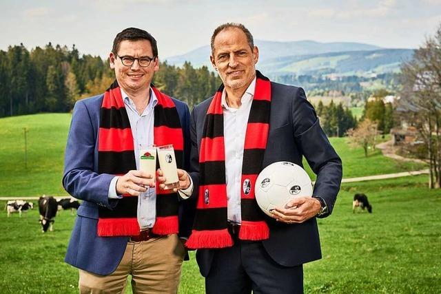 Zwei starke Teams aus der Region: SC Freiburg und Schwarzwaldmilch