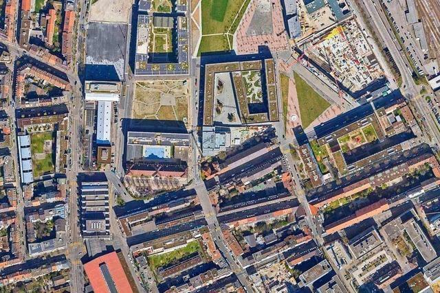 Kostenlose Luftbilder von Basel, Riehen, Bettingen, Weil und Lörrach