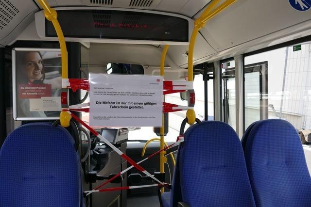 Linienbusse fahren im Ferienfahrplan, nur nachts nicht