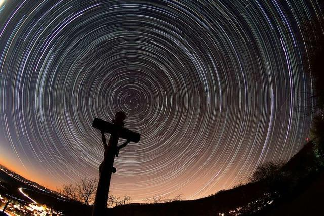 Mit seinem Kameraobjektiv kommt ein Ebringer Fotograf den Sternen näher