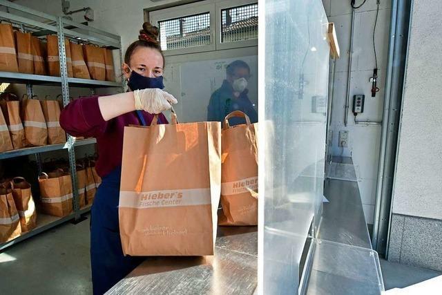 Der Freiburger Tafelladen verkauft jetzt Lebensmitteltüten