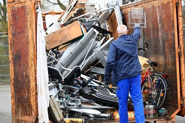 Die Recyclinghöfe im Kreis Lörrach sollen am 20 April wieder öffnen