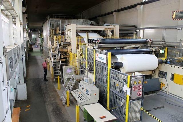 Kurzarbeit in der Technocell-Papierfabrik