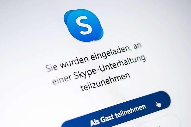 Gundelfinger Computergruppe hilft beim Skypen