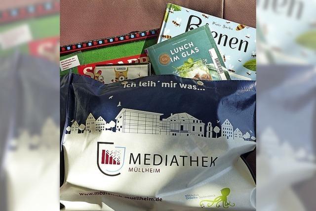 Mediathek packt Taschen