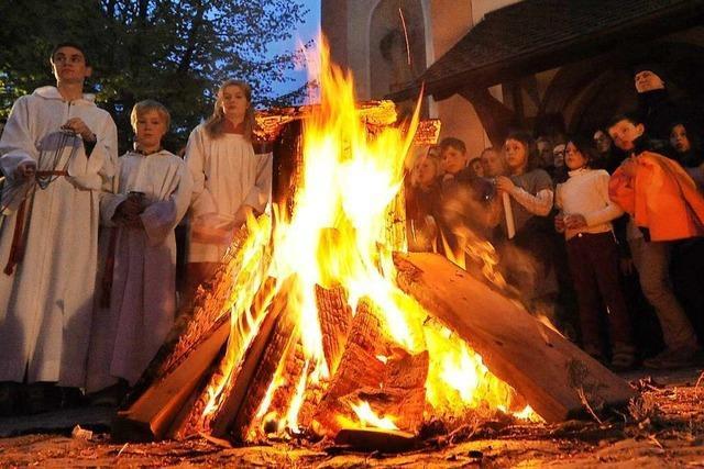 Aktion der Landjugend Hinterzarten: Osternachtsfeier im Internet