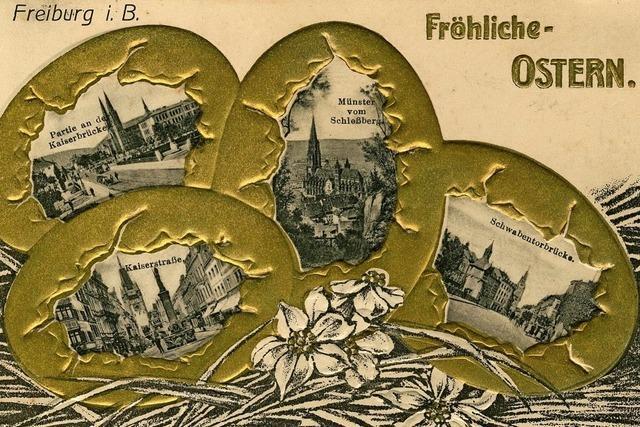 Ostergrüße von 1908