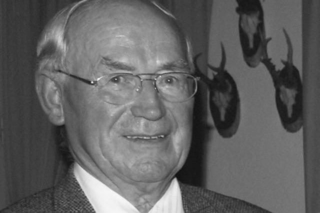 30 Jahre Bürgermeister: Görwihl trauert um Harald Scheuble