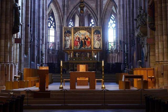 Das Freiburger Münster bleibt an Ostern leer – aber die Messen gibt's live im Internet