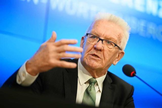 Fünf Experten beraten Ministerpräsident Kretschmann in Sachen Corona