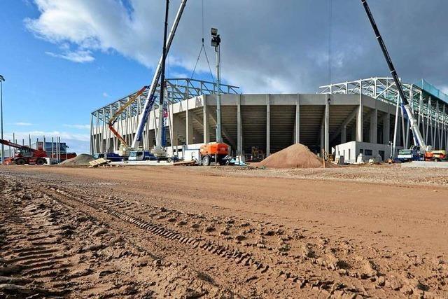 Neues SC-Stadion wird nicht wie geplant fertig