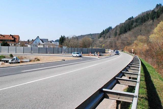 B 317 bei Maulburg wird am Dienstag nach Ostern wieder gesperrt