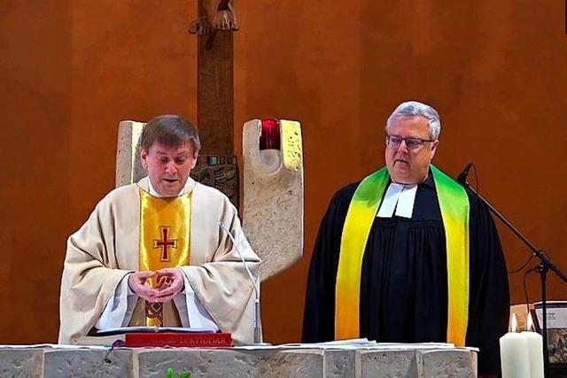 Video: Ökumenischer Ostersonntagsgottesdienst aus der Bernhardskirche in Schopfheim