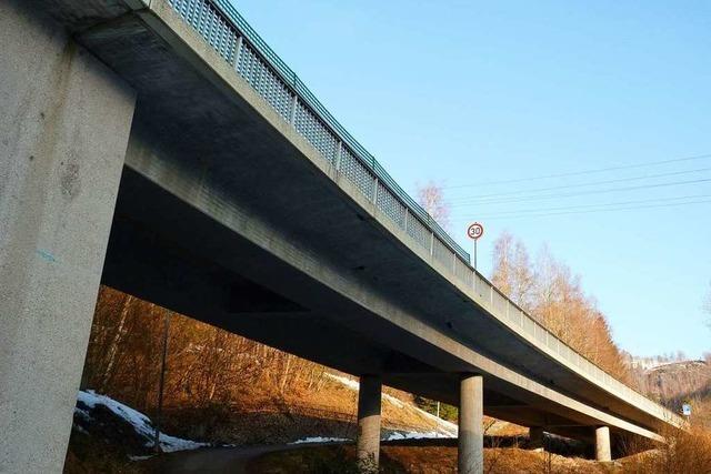 Landstraße bei Todtnau wegen Brückensanierung ab Dienstag gesperrt