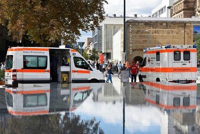 Der Rettungsdienst in Freiburg hat noch Reserven