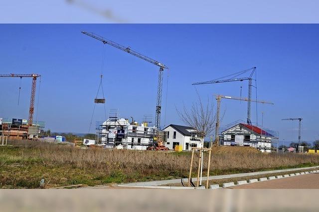 Baugebiet kommt voran
