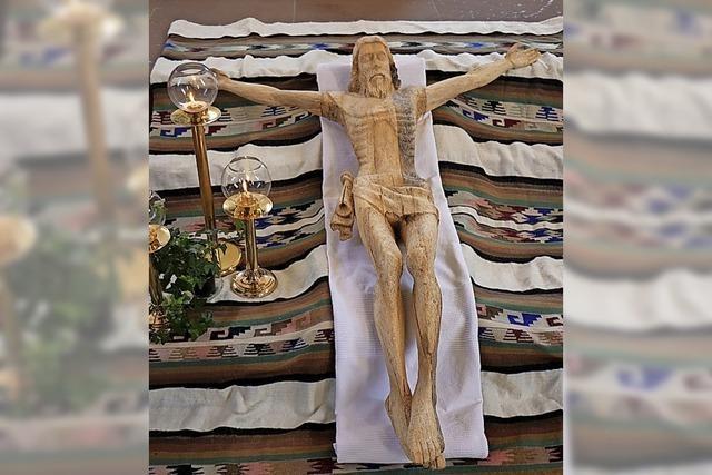Christusfigur aus Peru