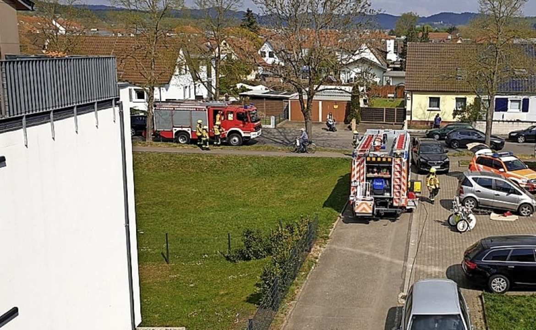 An der Wiesenstraße hatte ein Kunststoffgefäß am Herd  eine Wohnung verraucht.    Foto: Feuerwehr