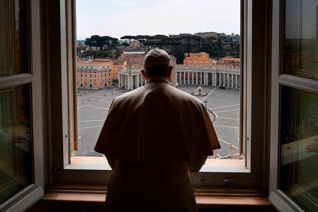 Fotos: Stille Osterfeierlichkeiten im Vatikan