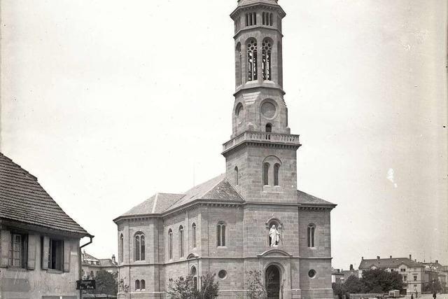 Die Christuskirche war die zweite evangelische Kirche Freiburgs