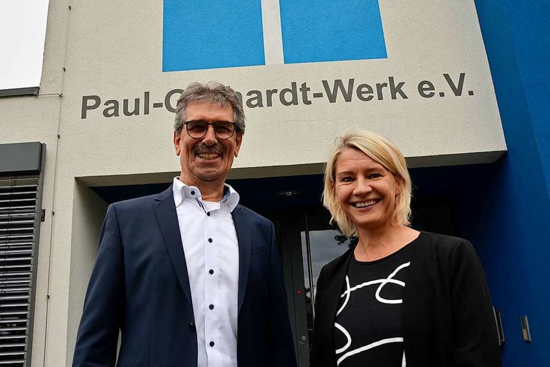 Eberhard Roth und Silke Boschert, Vors...uf die Anforderungen der Corona-Krise.  | Foto: hrö