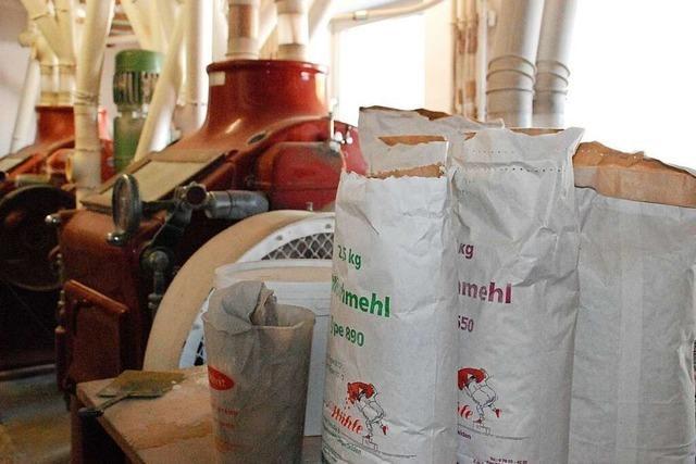 Die Mühlen im Landkreis Lörrach sind mit Arbeit voll ausgelastet