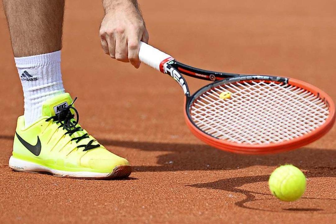 Tennis auf dem Tennisplatz? Verboten.  | Foto: Patrick Seeger