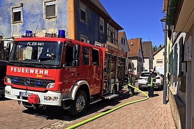 Wohnhausbrand gelöscht