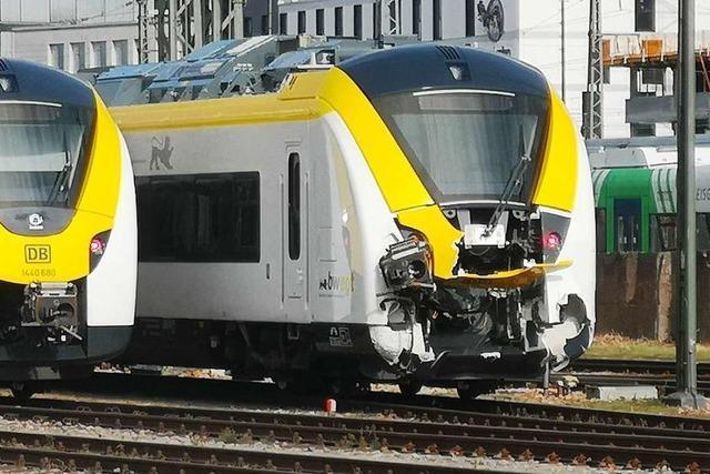 Züge der Breisgau-S-Bahn haben Probleme beim Kuppeln