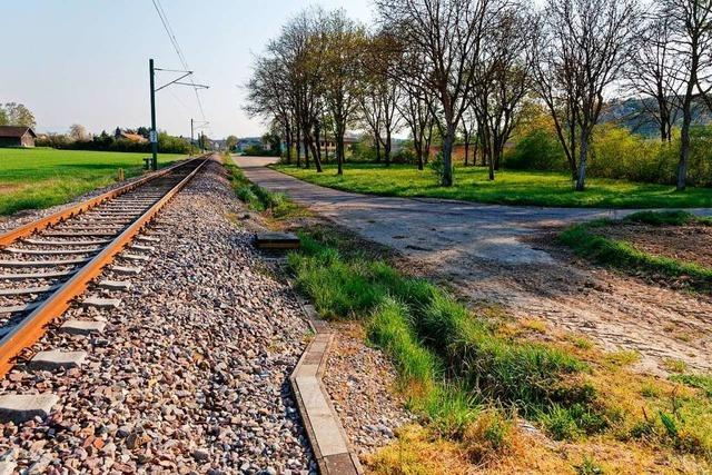 Bahnübergang in Bahlingen könnte ab Juni gebaut werden