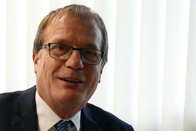 Liveübertragung zum Nachgucken: Rheinfeldens OB Klaus Eberhardt im BZ-Talk