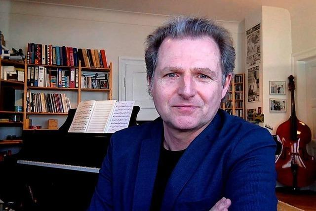 Pianist Johannes Mössinger: Video-Interview statt Konzert