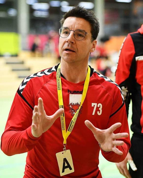 Brachte Stabilität in das HG-Team: Trainer Stephan Weber  | Foto: Achim Keller