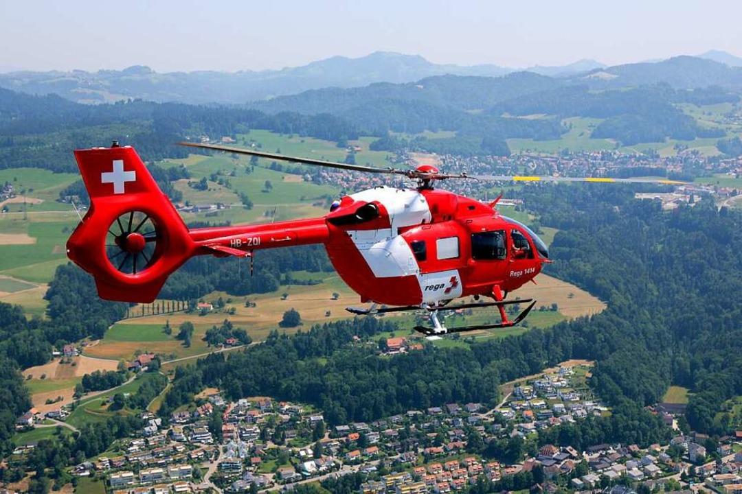 Rega-Hubschrauber  | Foto: Rega