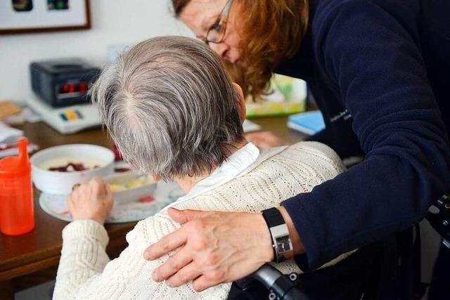 Corona-Krise stellt ambulante Pflegedienste vor Herausforderungen