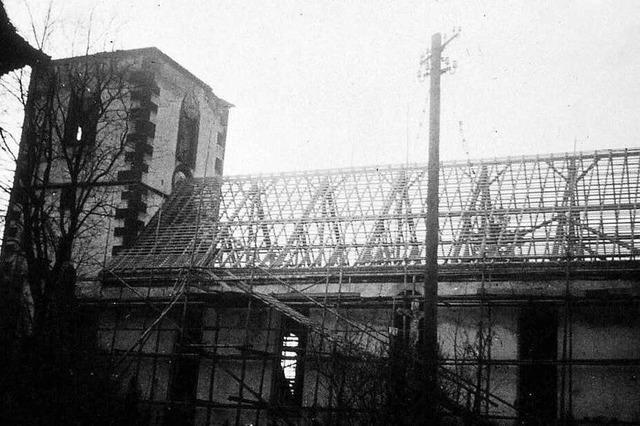 Ottenheim hat es in den letzten Kriegstagen schwer getroffen