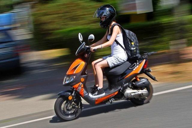 In Lörrach wurde ein Motorroller gestohlen